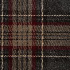Midas Tartan Carpet - Charcoal