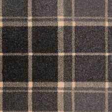Midas Tartan Carpet - Cool Grey