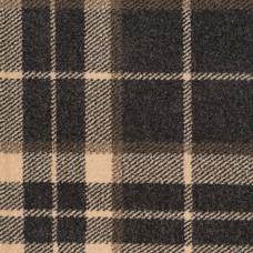 Midas Tartan Carpet - Grey / Cream