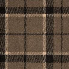 Midas Tartan Carpet - Mink Black