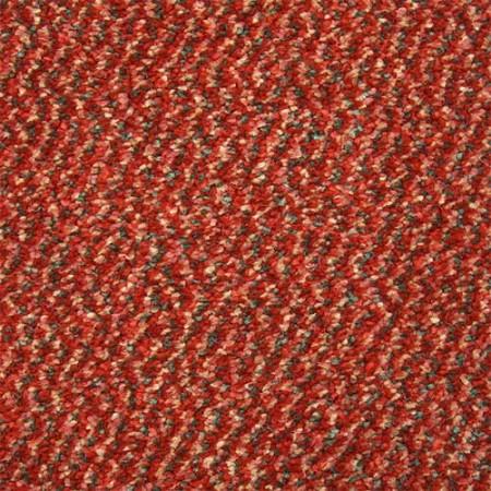 Invincible Tweed Stain Resistant Twist Carpet - Paprika