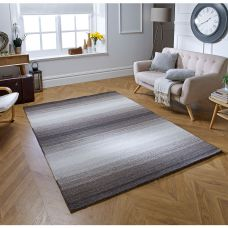 Alberolo Striped Rug - Beige