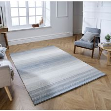 Alberolo Striped Rug - Grey