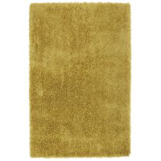 Diva Soft Touch Shaggy Rug - Yellow