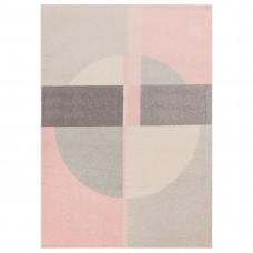 Muse Modern Rug - MU21 Pink Grey
