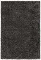 Ritchie Chunky Shaggy Rug - Charcoal