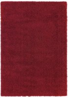 Ritchie Chunky Shaggy Rug - Red