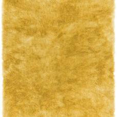 Whisper Shiny Silky Shaggy Rug - Yellow