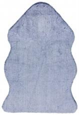 Willow Faux Fur Rectangular Rug - Navy Tipped