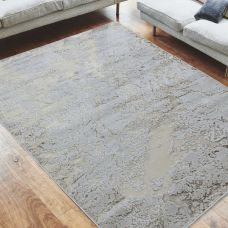 Aurora Abstract High Shine Rug - Strata AU16
