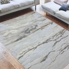 Aurora Abstract High Shine Rug - Linea AU17