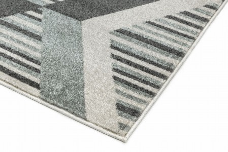 Colt Bold Geometric Rug - Diamond Grey