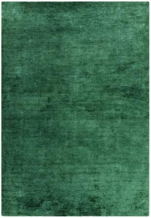 Milo Soft Lustrous Shaggy Rug - Green
