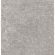 Milo Soft Lustrous Shaggy Rug - Silver