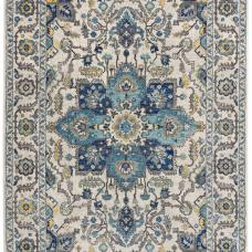 Nova Traditional Hardwearing Rug - Persian Blue NV25