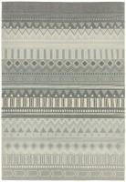 Onix Cotton Rug - Tribal Mix Grey