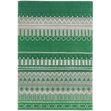 Onix Cotton Rug - Tribal Mix Green