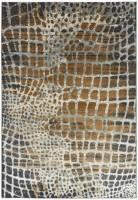 Quantum High Shine Animal Print Rug - Giraffe