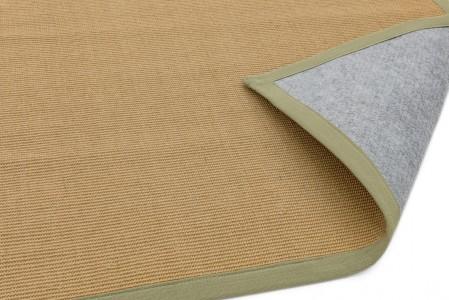 Sisal Anti Slip Hardwearing Rug - Sage