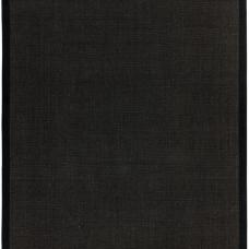 Sisal Anti Slip Hardwearing Rug - Black