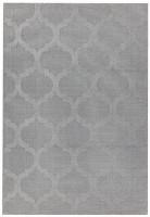 Antibes Geometric Rug -  Grey Trellis AN01