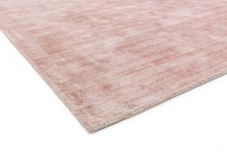 Blade Luxurious Dense Viscose Rug - Pink