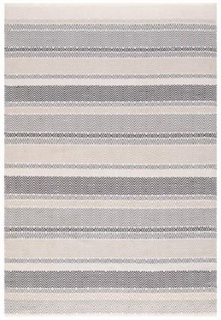 Boardwalk Striped Rug - Grey Multi