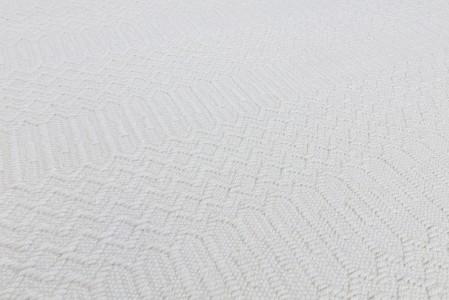 Halsey Geometric Flatweave Runner - Natural
