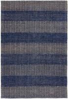 Ives Jute Flatweave Rug - Navy Blue