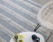 Boardwalk Striped Rug - Blue Multi