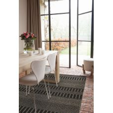 Varanda In/Outdoor Rug - Black Stripe