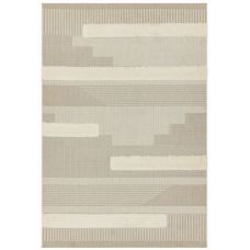 Monty Geometric Rug - Natural Cream