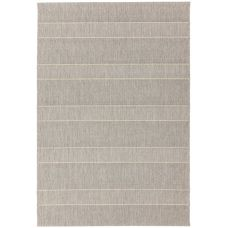 Patio In/Outdoor Rug - Beige Stripe