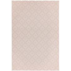 Patio Geometric In/Outdoor Rug - Pink Jewel