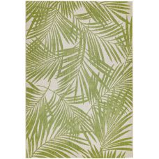Patio Floral In/Outdoor Rug - Green Palm