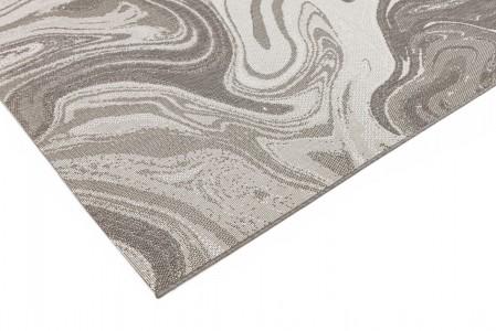 Patio Abstract Rug - Natural Marble