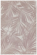Patio Floral Rug - Pink Palm