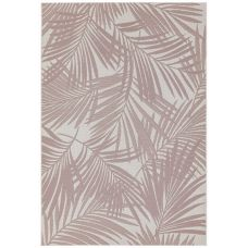 Patio Floral In/Outdoor Rug - Pink Palm