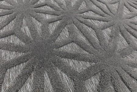Salta Geometric Rug - Anthracite Star