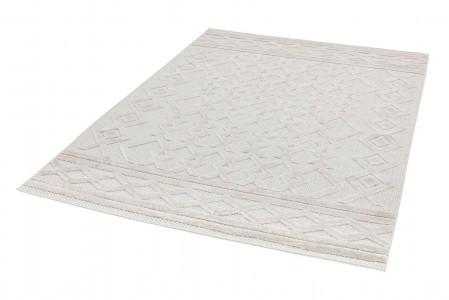 Salta Geometric Rug - White Links