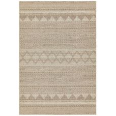 Varanda Geometric In/Outdoor Rug - Beige Diamond