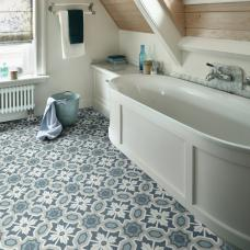 Natural Tiles Vinyl - Eleanor Blue 75