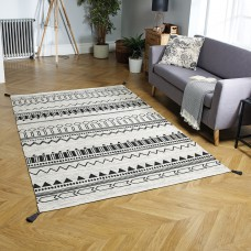 Beni Tribal Rug - Charcoal