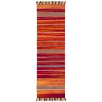 Kelim Ethnic Runner - Red Stripe