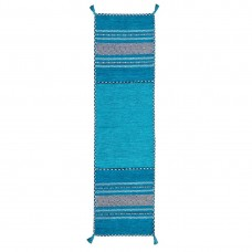 Kelim Ethnic Runner - Teal