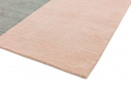 Blox Wool Geometric Rug - Pink