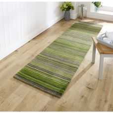 Carter Striped Runner - Green