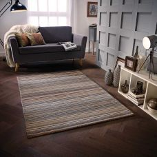 Calais Stripe Rug - Natural