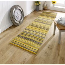 Carter Striped Runner - Ochre