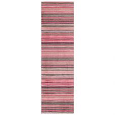 Carter Striped Runner - Pink